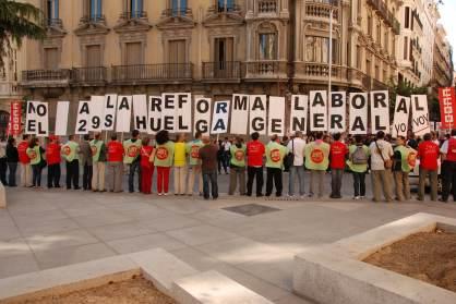 En España se contabilizan 334 huelgas hasta abril de este año