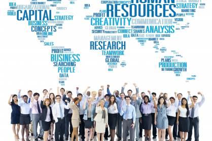 Las grandes empresas crean un 2,9% del empleo, en tasa interanual.