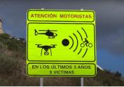 La DGT instala unas señales nuevas orientadas a reducir la siniestralidad de los motoristas